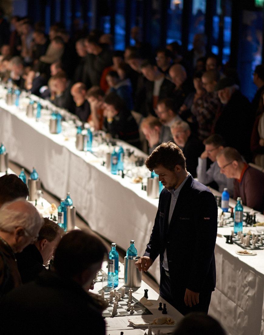 Magnus Carlsen bei ZEIT Veranstaltungen