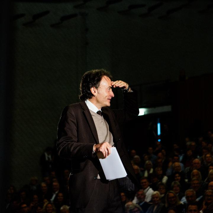 Giovanni di Lorenzo beim Tag der ZEIT