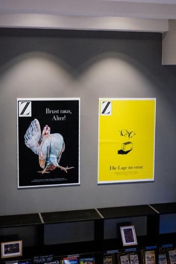 """Z-Titelbilder: """"Brust raus, Alter"""" und """"Die Lage ist ernst"""""""