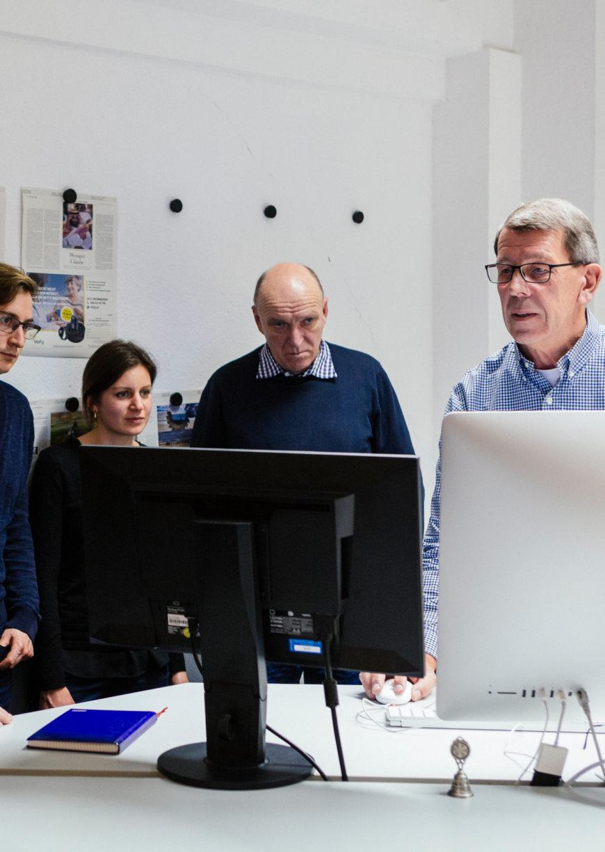 Redaktionsbesuch in Berlin