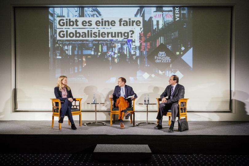 Unter-Freunden-Abend: Gibt es eine faire Globalisierung