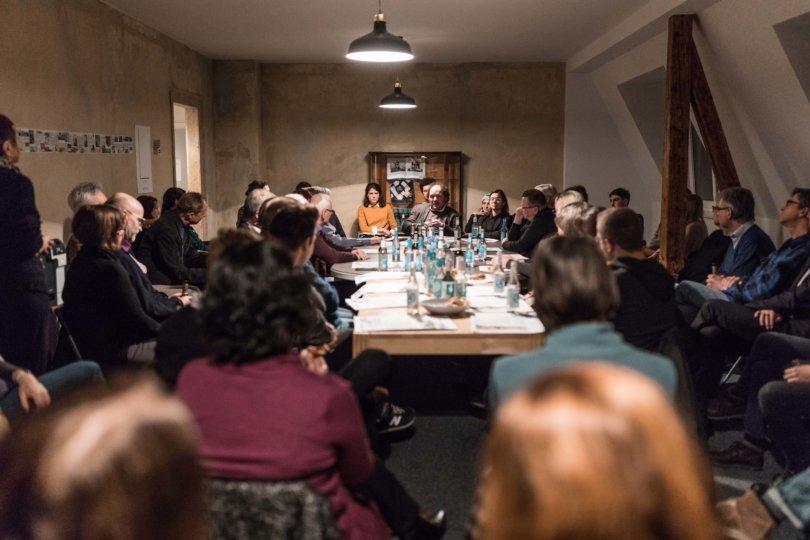 Redaktionsbesuch in Leipzig