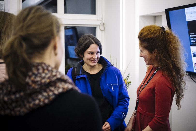 Redaktionsbesuch in Hamburg