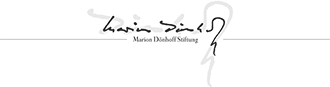 Logo Marion Dönhoff Stiftung