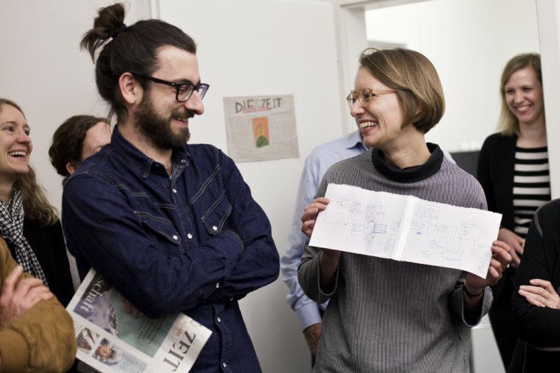 Matthias Daum und Aline Wanner