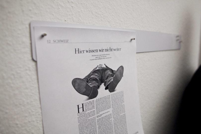 Redaktionsbesuch in Zürich