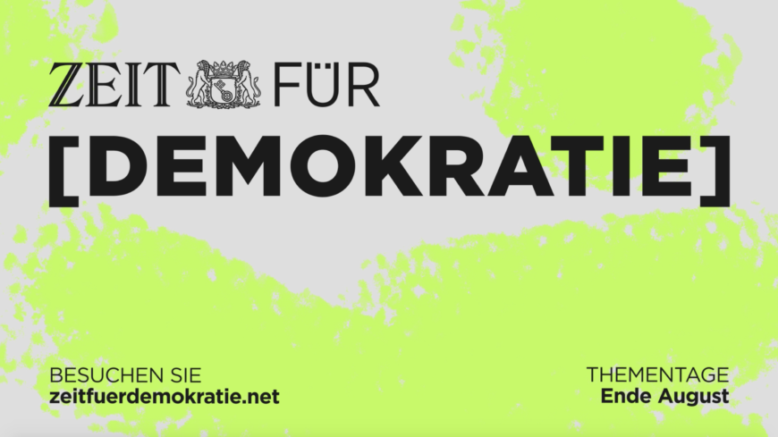 ZEIT für Demokratie Trailer Video